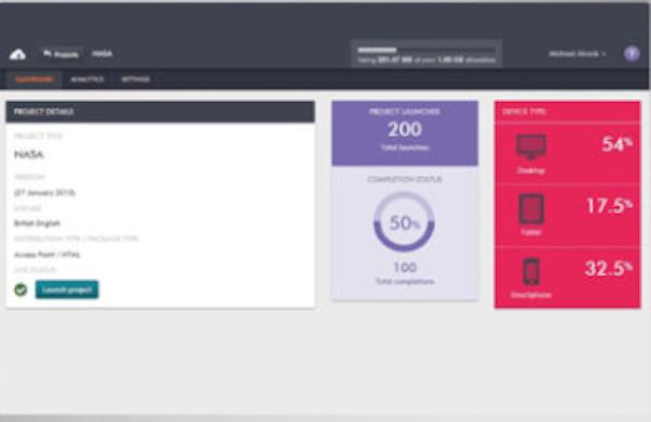 gomo visual analytics screenshot