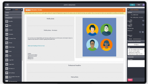 gomo screens template screenshot