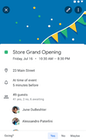 Google Calendar - Google Calendar event details