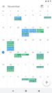 Google Calendar monthly calendar