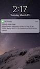 GOrendezvous notifications