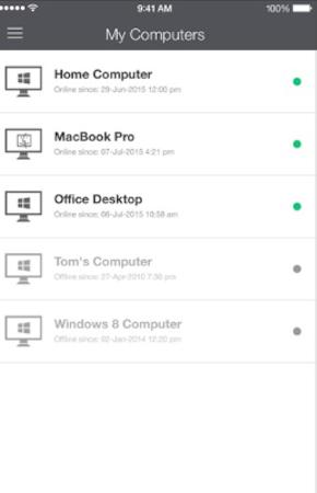 GoToMyPC multiple devices