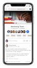 Workplace by Facebook - Group Mobile