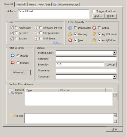GUI filter