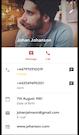 Zadarma phone book integration screenshot