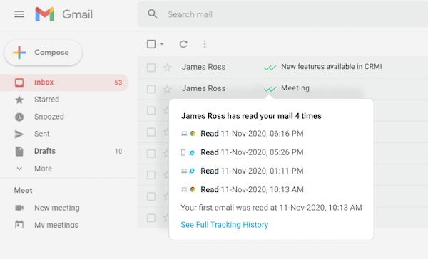 OpenedorNot history tracking