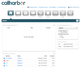CallHarbor home - user domain