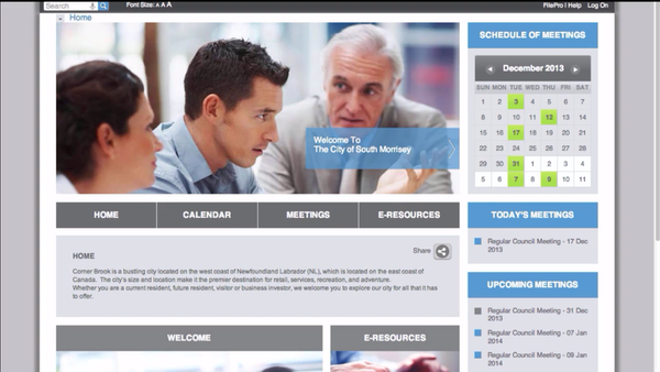 iCompass home screenshot