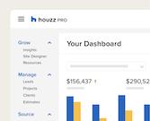 Houzz Pro Dashboard
