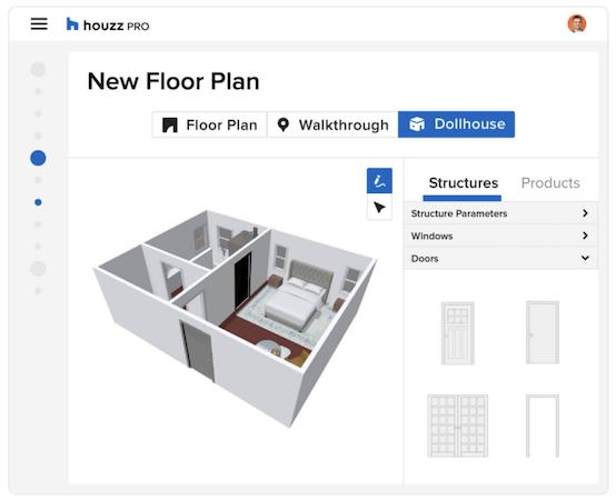 Houzz Pro Floorplan