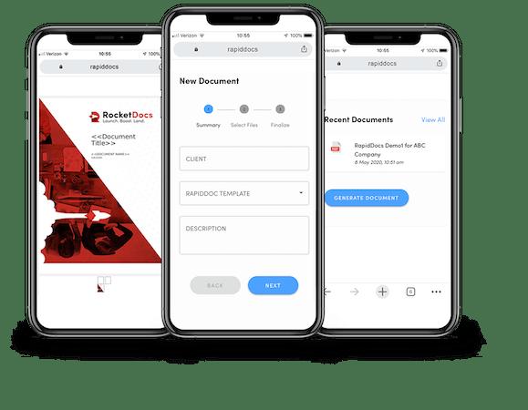 RocketDocs Mobile Sales Engine