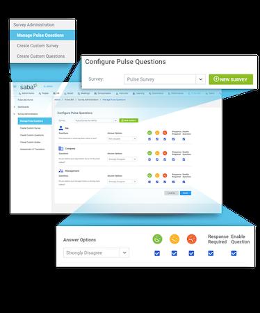 Custom engagement surveys