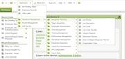 Exceloid HCM application menu