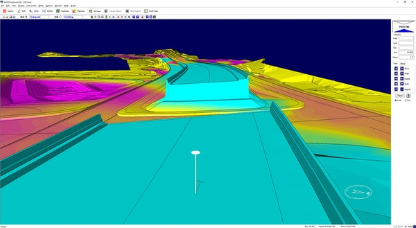 Earthwork 4D 3D visualizations