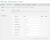 iATS payment processing page