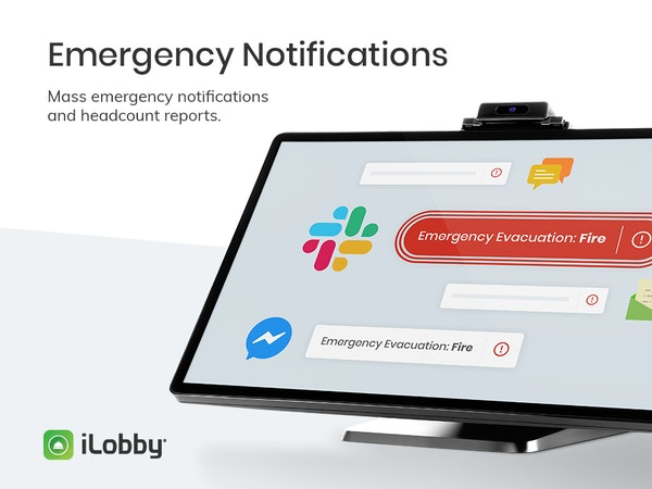 iLobby Emergency Notifications