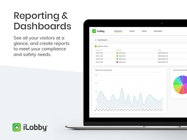 iLobby Reporting and Dashboards