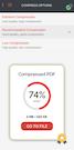 iLovePDF compress files