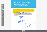 iLovePDF annote documents
