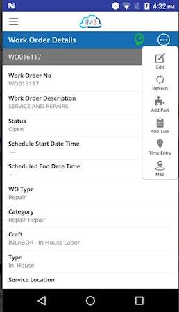 iM3 Mobile Work Order