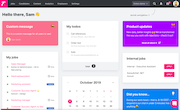 Teamtailor dashboard