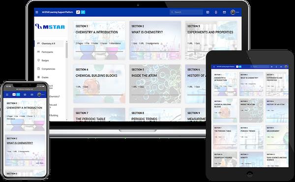 M-Star Learning Support Platform