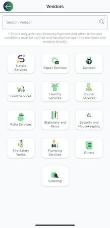 myCiti vendors