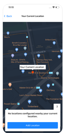 InnBuilt HRMS location tracking