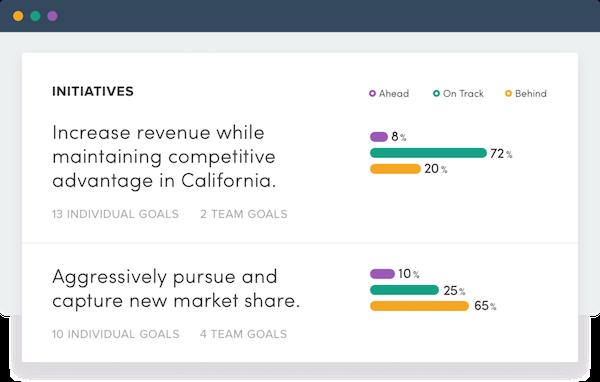 Insights organization strategy screenshot