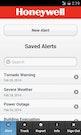 Instant Alert saved alerts