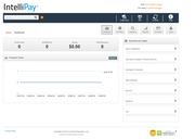 IntelliPay dashboard