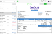 Output Books invoicing screenshot