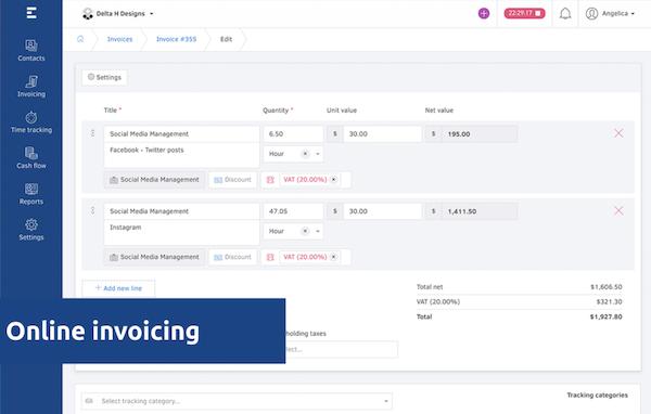 Elorus invoicing