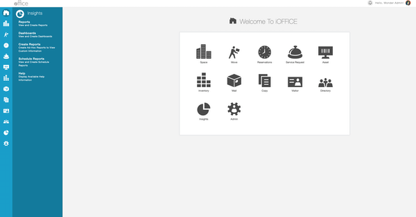 iOFFICE Home Screen