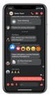 Workplace from Facebook - iOS app chat