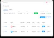 Hubstaff - Hubstaff invoices screenshot