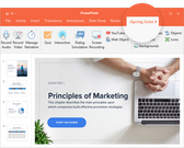 iSpring PowerPoint Integration
