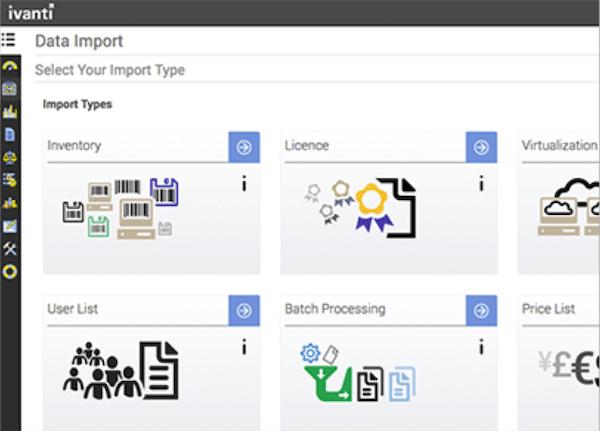 Ivanti License Optimizer data import