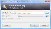 KeePass masterkey