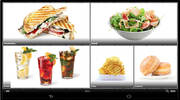 Tray order screen