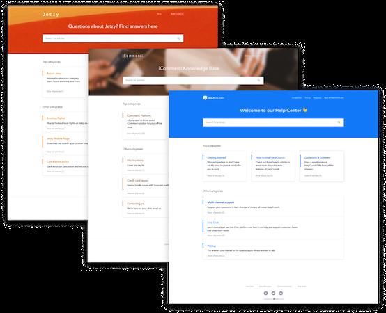 Knowledge base customizations