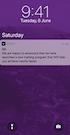 Journey app notifications