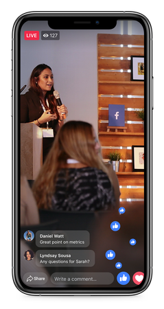 iOS live video