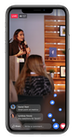 Workplace from Facebook - iOS live video