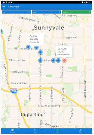 SINC location tracking