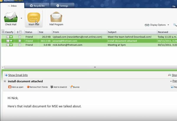 BlockSurvey spam blocker screenshot