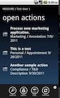 Nexsure Agency Management - Open actions