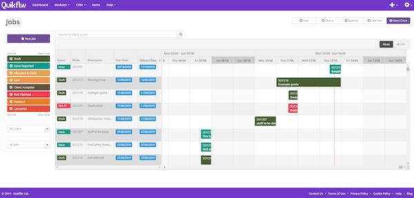 Manage Job Schedules