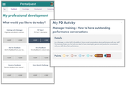 PentaQuest manager-specific activities