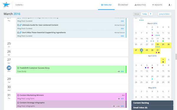 Managing calendar
